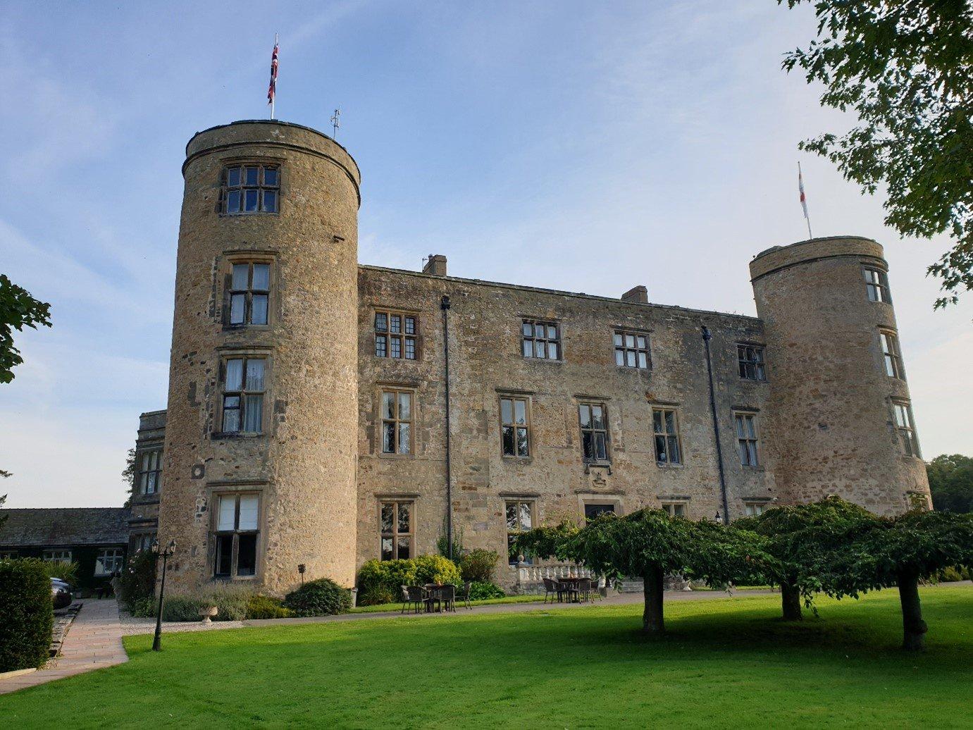 Walworth Castle walking holiday hotel