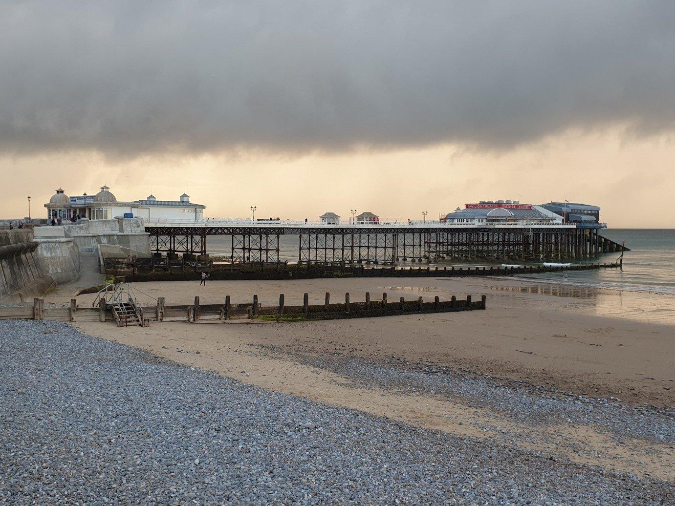 Cromer Pier, Norfolk, shingle beach, uk walking holiday