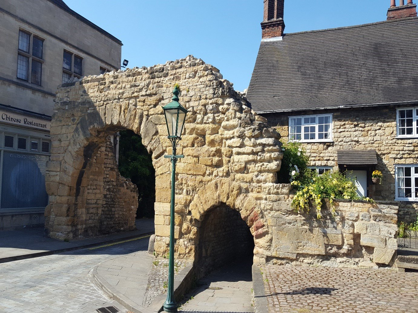 New Port Arch Roman remains historic arch